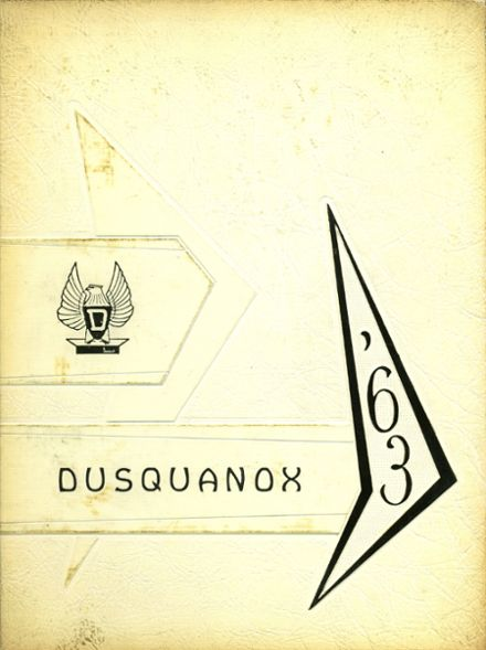 1963 Duanesburg Central High School Yearbook Cover