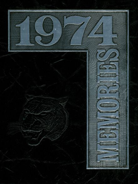 1974 Marple-Newtown High School Yearbook Cover