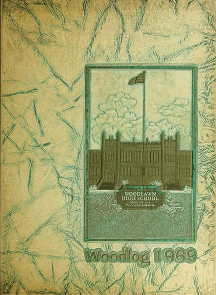 1969 Woodlawn High School Yearbook Cover