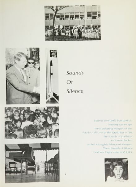 1969 Cardinal Spellman High School Yearbook Page 7