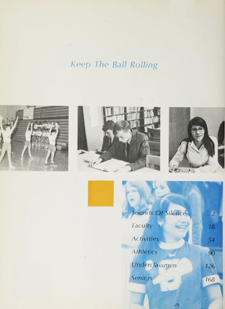 1969 Cardinal Spellman High School Yearbook Page 8