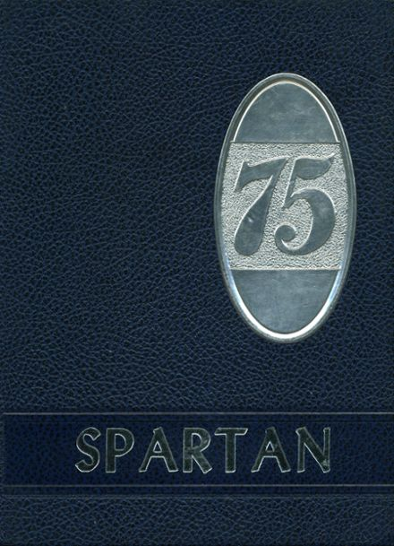 1975 White Mountain Regional High School Yearbook Cover