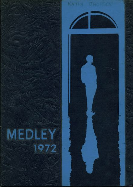 1972 Danville High School Yearbook Cover