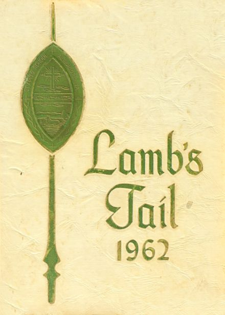 1962 St. Stephen's & St. Agnes School (Upper School) Yearbook Cover