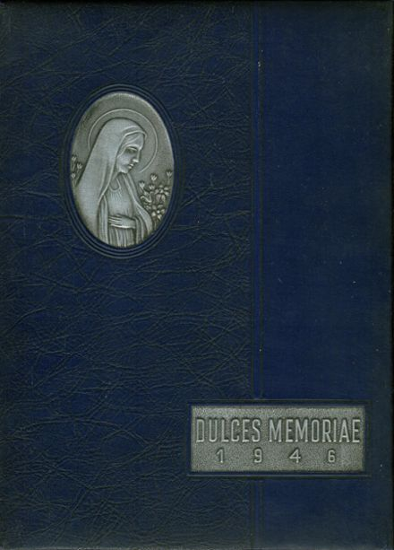 1946 St. Mary's High School Yearbook Cover