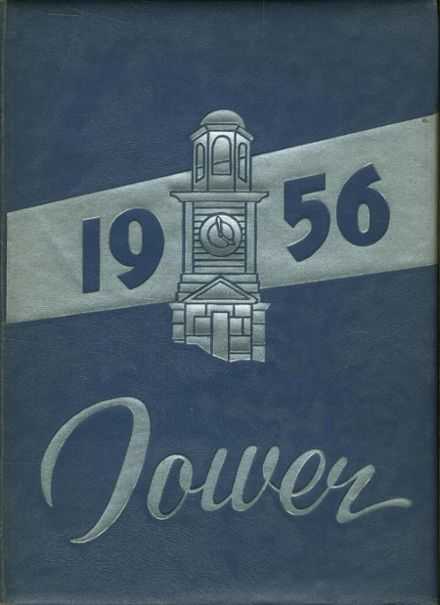 1956 Nyack High School Yearbook Cover