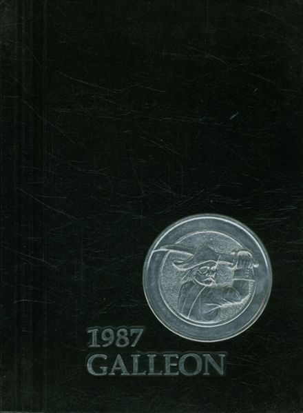 1987 Toms River East High School Yearbook Cover