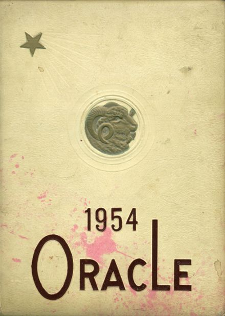 1954 Bangor High School Yearbook Cover