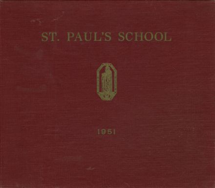 1951 St. Paul's School Yearbook Cover