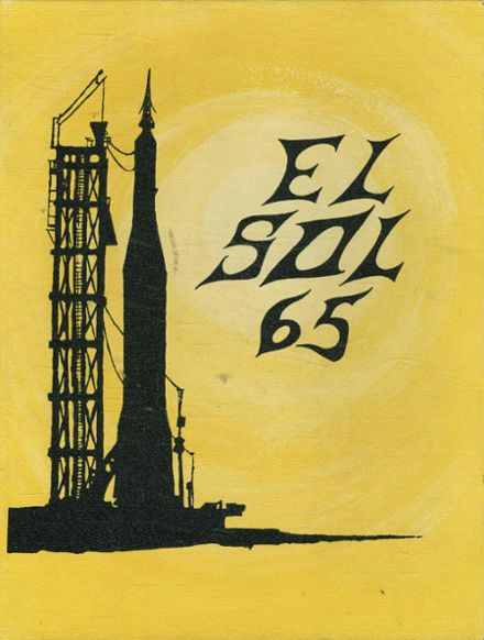 1965 Rancho High School Yearbook Cover