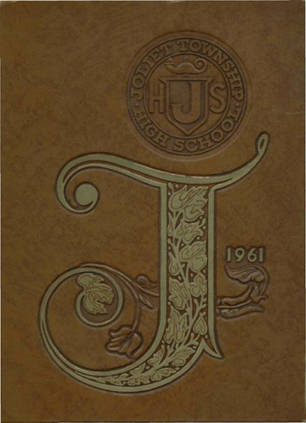 1961 Joliet Township High School Yearbook Cover