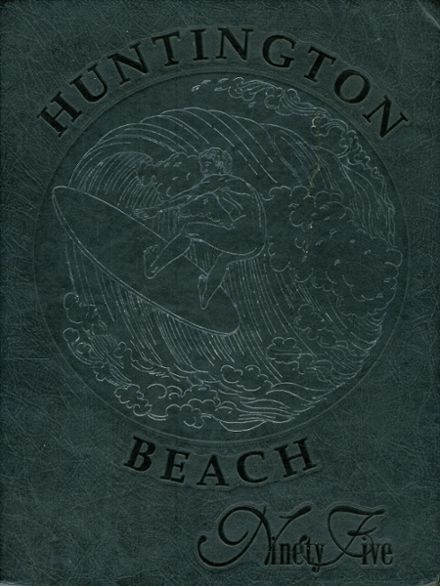 1995 Huntington Beach High School Yearbook Cover
