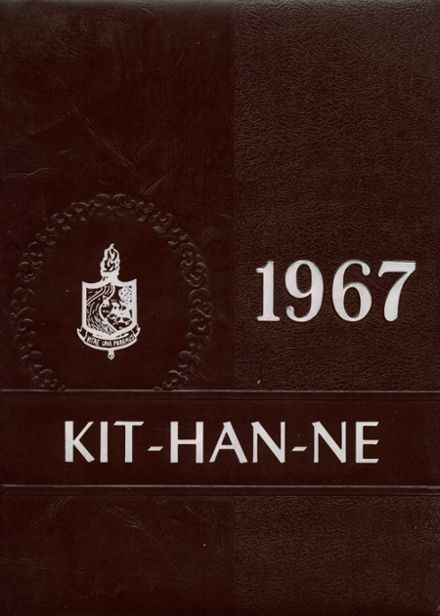 1967 Kittanning High School Yearbook Cover