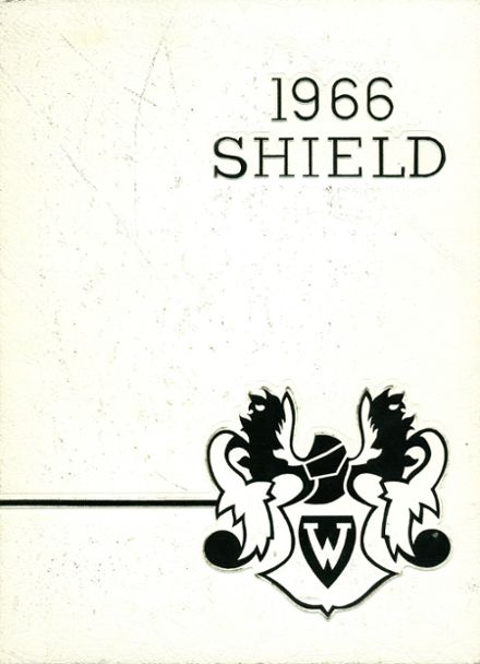 1966 Westside High School Yearbook Cover