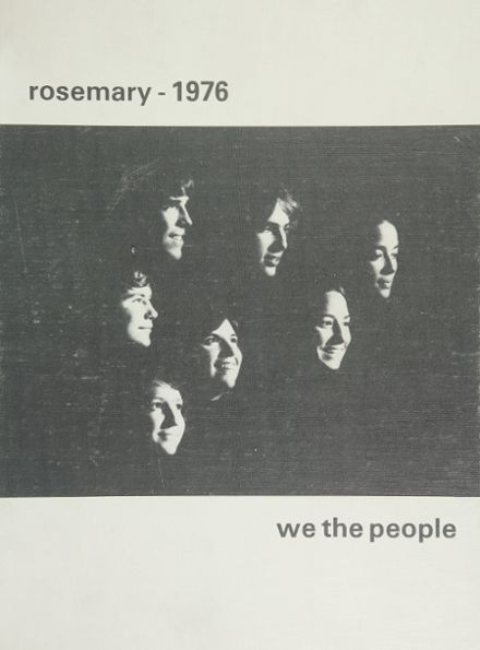 1976 Urbana High School Yearbook Cover