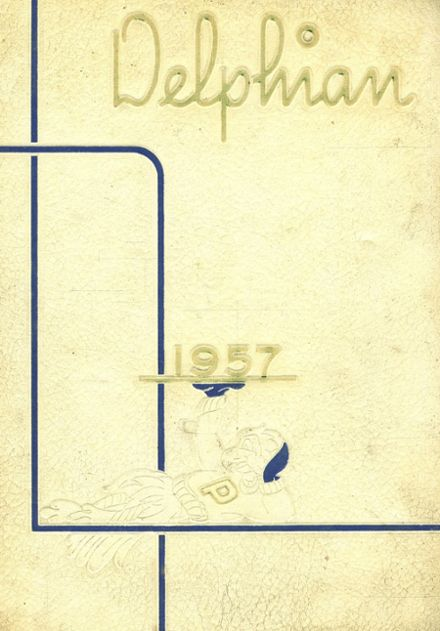 1957 Paxon High School Yearbook Cover