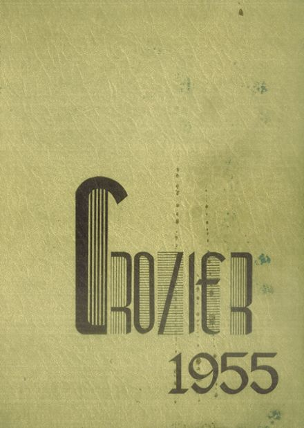 1955 Bishop O'Dowd High School Yearbook Cover
