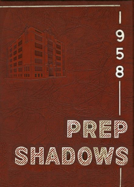 1958 Saint John's Preparatory School Yearbook Cover