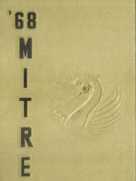 1968 Bishop O'Dowd High School Yearbook Cover