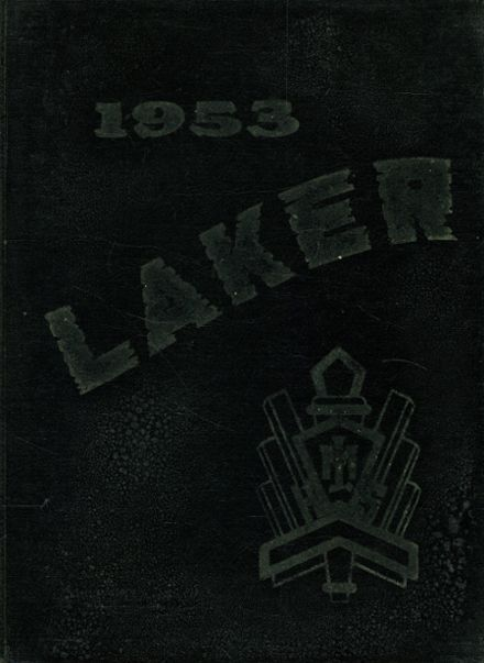 1953 Mountain Lake High School Yearbook Cover