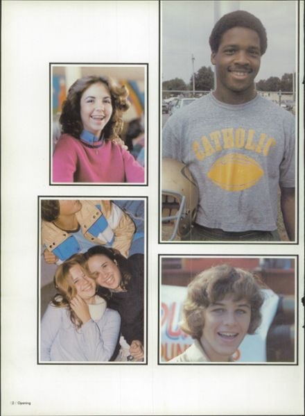 1980 Pensacola Catholic High School Yearbook Page 6