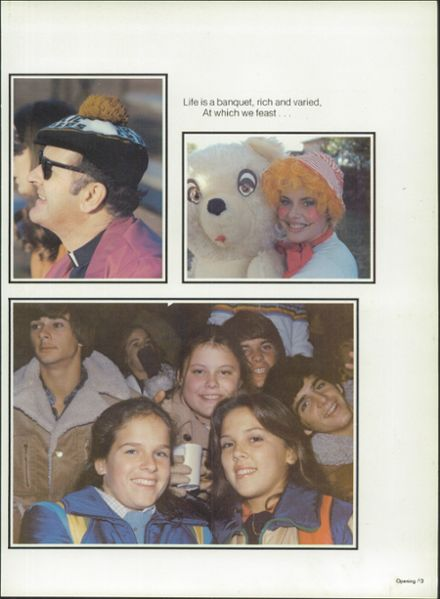 1980 Pensacola Catholic High School Yearbook Page 7