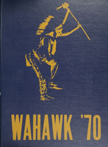 1970 West High School Yearbook Cover