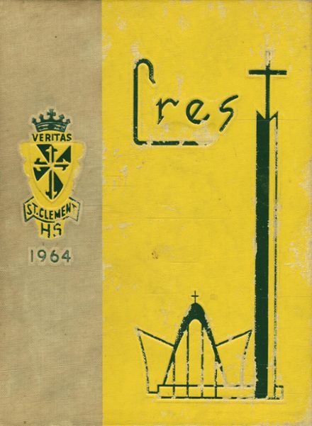 1964 St. Clement High School Yearbook Cover
