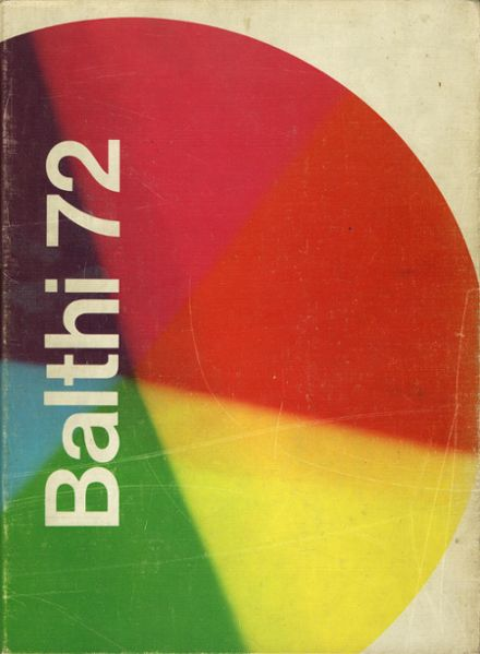 1972 Baldwin High School Yearbook Cover