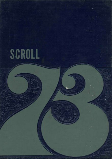 1973 St. Anne's High School Yearbook Cover