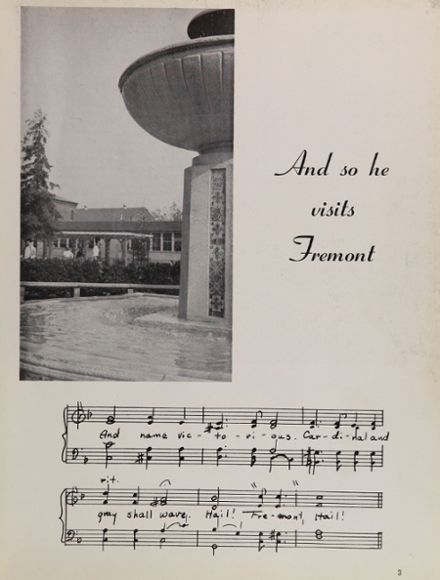 1955 Fremont High School Yearbook Page 7