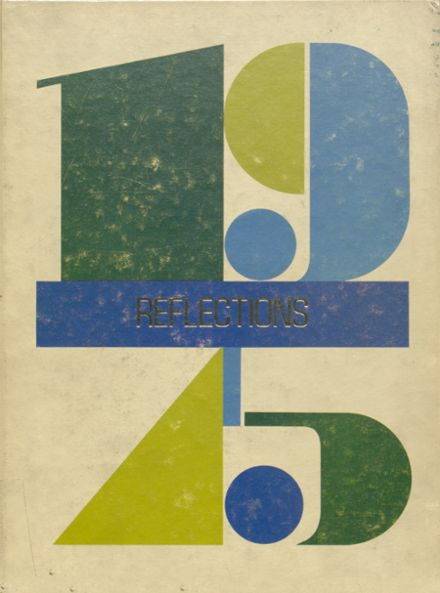 1975 L'Anse High School Yearbook Cover