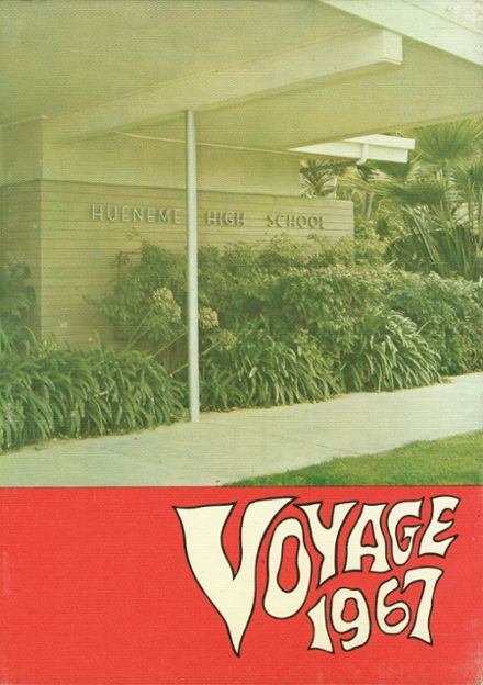 1967 Hueneme High School Yearbook Cover