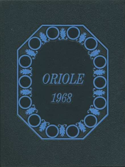 1968 Ludington High School Yearbook Cover