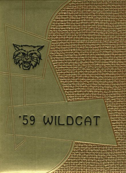 1959 Superior High School Yearbook Cover