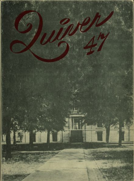 1947 Harding High School YEARBOOK - Marion, OH