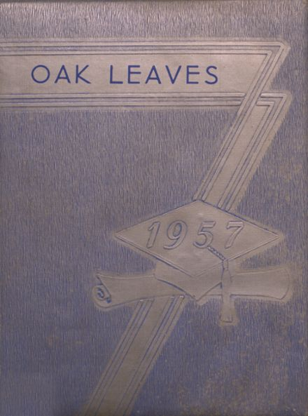 1957 Oxford High School Yearbook Cover
