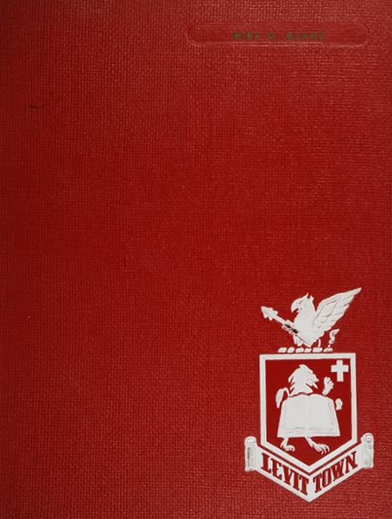 1963 Levittown High School Yearbook Cover