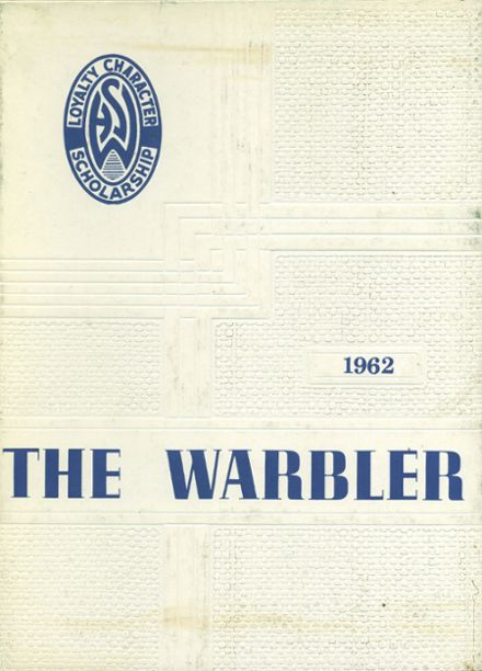 1962 Walpole High School Yearbook Cover
