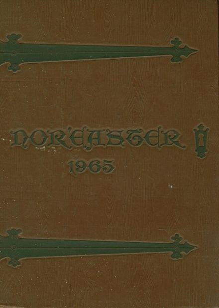 1965 Northeast High School Yearbook Cover
