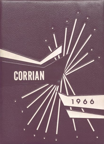 1966 Corry Area High School Yearbook Cover