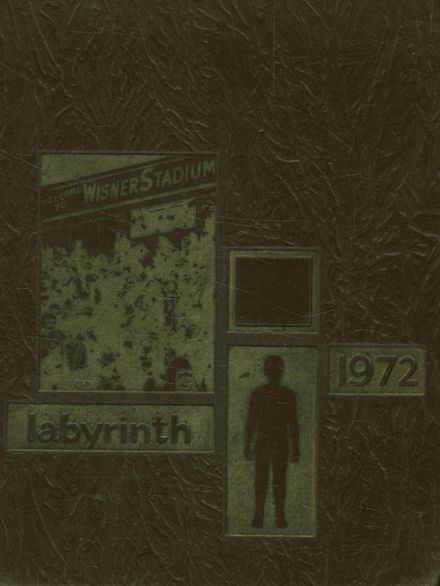 1972 Bishop Borgess High School Yearbook Cover