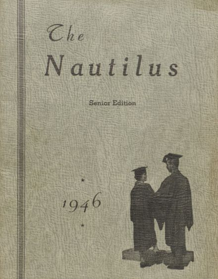 1946 College High School Yearbook Cover