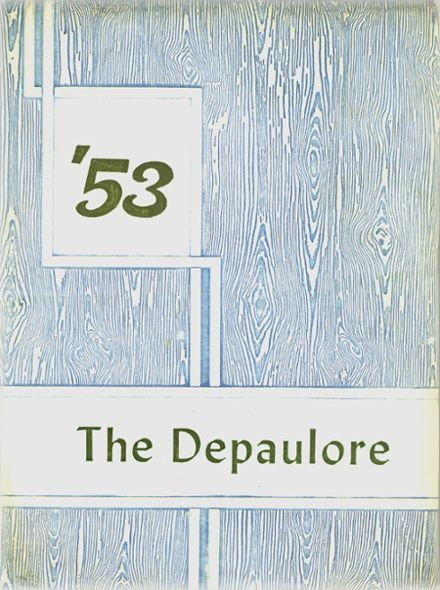 1953 St. Vincent's High School Yearbook Cover