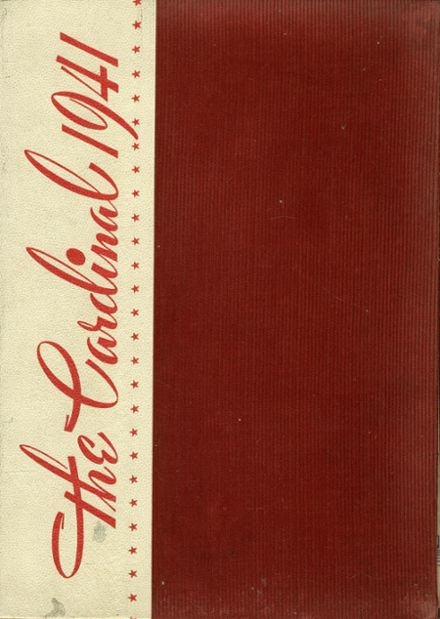 1941 Whittier High School Yearbook Cover