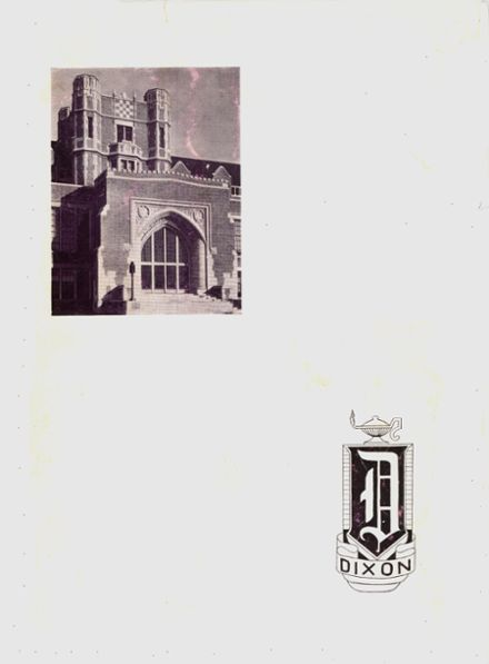 1947 Dixon High School Yearbook Cover