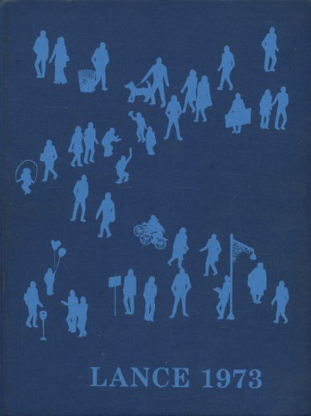 1973 New Hyde Park Memorial High School Yearbook Cover