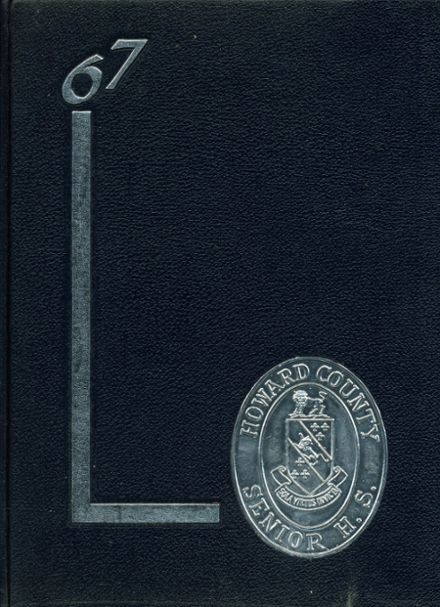 1967 Howard High School Yearbook Cover