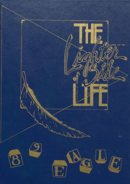 1989 Brock High School Yearbook Cover