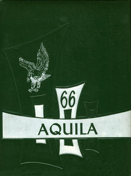 1966 St. John's Academy Yearbook Cover